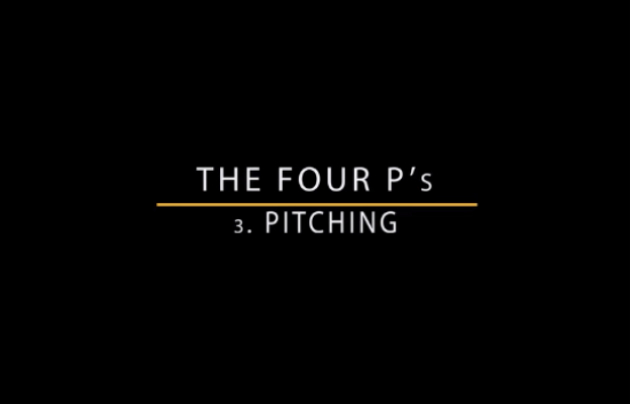 Pitching Masterclass video