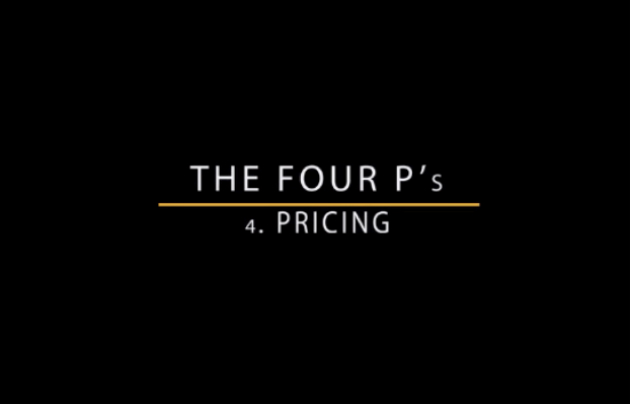 Pricing Masterclass video