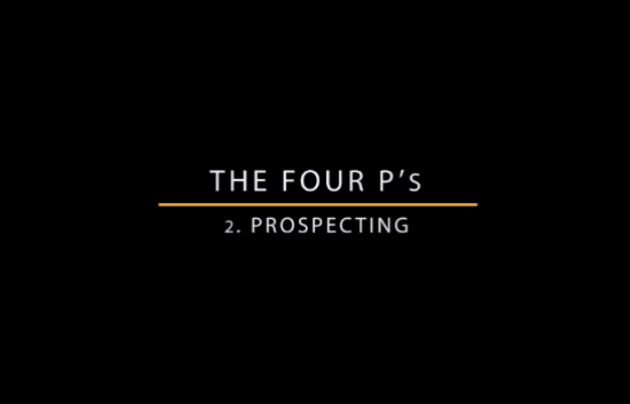 Prospecting Masterclass video