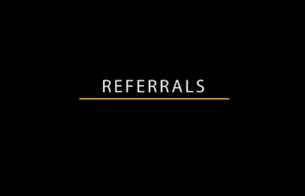 Referrals Masterclass video
